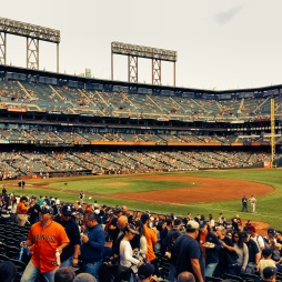 20 minutes before game time, Giants vs. Padres, Sunday, September 29th, 2013