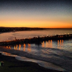 Sunrise over Santa Cruz